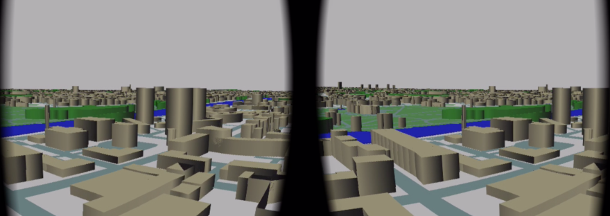 Google Cardboard and OpenStreetMap – Rufus Programmer